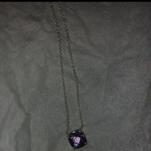 Tiffany and coming sparklers amethyst necklace